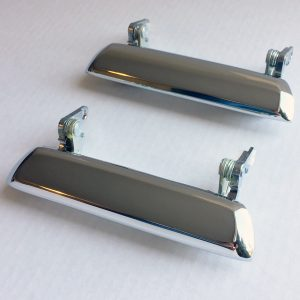 Datsun 240Z 260Z 280Z Original Chrome Outer Door Handles Pair 70-78
