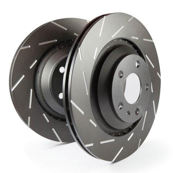 EBC USR7122 Sport Slotted FRONT Brake Rotors for 350Z G35 (w/Brembo Brakes)