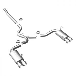 MAGNAFLOW Quad Cat-Back Exhaust for '11-14 IMPREZA WRX/STI, '15-17 WRX STI, 2.5L