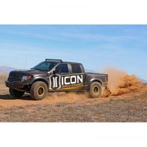 ICON 3.0 Adjustable Front Coilover Shock System for '10-14 Ford SVT Raptor