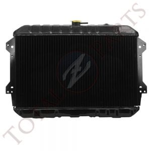 Datsun 240Z 260Z High Quality Brass Metal OEM Style Radiator, Black, 1970-1975