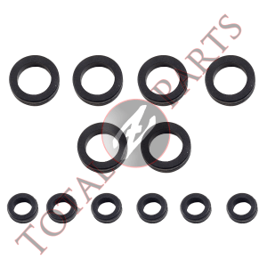 Datsun 280Z 280ZX Fuel Injector Injection Rubber Seal Kit, Upper & Lower, 1975-1983