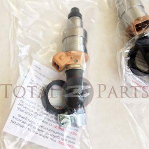 Datsun 280Z 280ZX Remanufactured Fuel Injectors Set (6), 75-83, L28E Non-Turbo