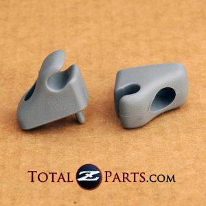 Datsun 280ZX Gray Sunvisor Holders/Clips *NEW, OEM*