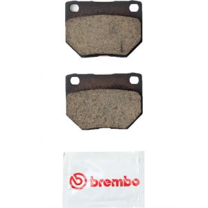 BREMBO Rear Ceramic Brake Pads PAIR, Disc Brakes, for 1990-1996 Nissan 300ZX