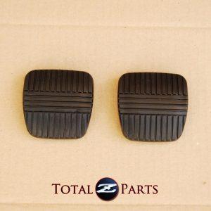 Brake Clutch Pedal Pads Set, for Nissan 300ZX (Z32), 1990-1996, Manual *NOS*