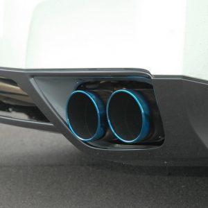 HKS Legamax Premium Exhaust for 09+ Nissan GT-R, Burnt Tips, TIG Welded