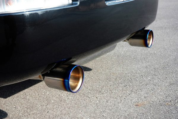 HKS Stainless Steel/Titanium Cat-Back Dual Exhaust for 03-09 Nissan 350Z