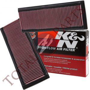 K&N High Flow Drop-In Air Filters PAIR for Mercedes C/CLK/E/GL/ML/R/S/SL Class