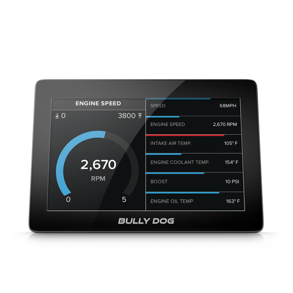 Bully Dog GTX Performance Tuner Monitor for '15-17 Mustang EcoBoost
