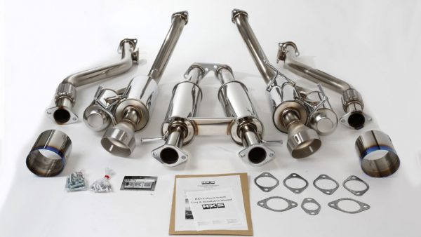 HKS Dual Hi-Power Stainless Steel Exhaust System, for Nissan 370Z (09-14)