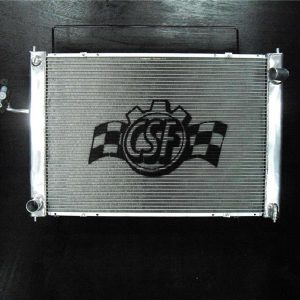 CSF Aluminum Racing Radiator w/ Condenser, Automatic Trans, Nissan 09+ 370Z Z34