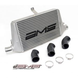 AMS Front Mount Intercooler Upgrade w/Logo for 03-06 Lancer EVOLUTION EVO 7/8/9
