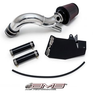 AMS Polished Aluminum Intake Kit for 08-15 Mitsubishi Lancer EVO Evolution X 10