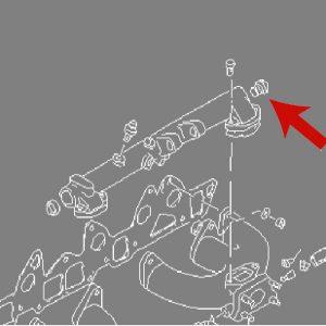 Datsun 240z Balance Tube Taper Plug *NOS Original*