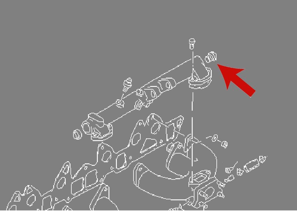 datsun 240z balance tube taper plug  nos original