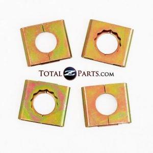 Datsun 240Z 260Z 280Z Brake Hose Lock Plates (Set of 4) *NOS*
