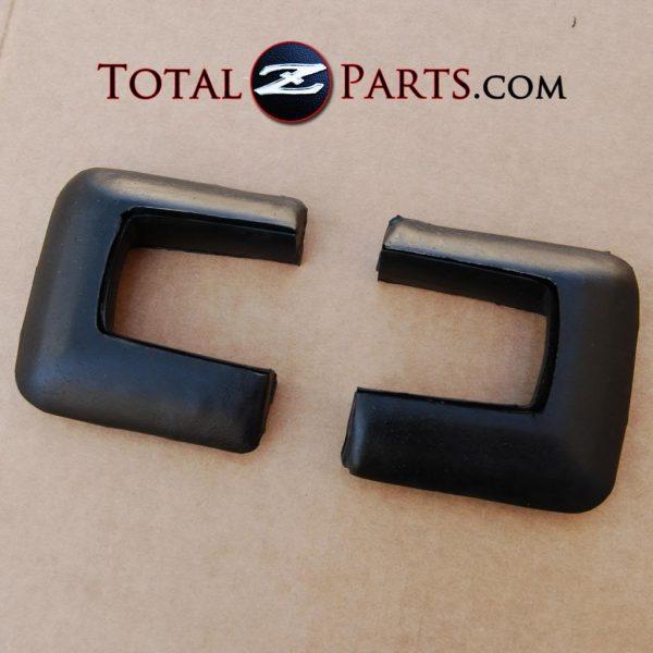 Datsun 240z Rear Bumper Rubber End Caps *NOS*