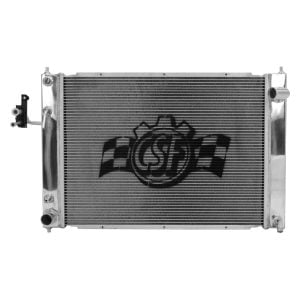 CSF Aluminum Racing Radiator w/ Condenser, Automatic Trans, Nissan 09+ 370Z Z34