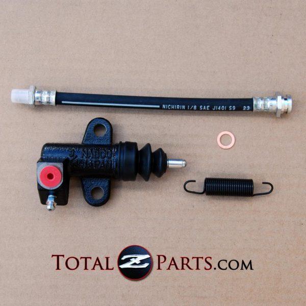 Datsun 240z 260z 280z Clutch Slave Cylinder Kit w/Spring & Hose *NOS*