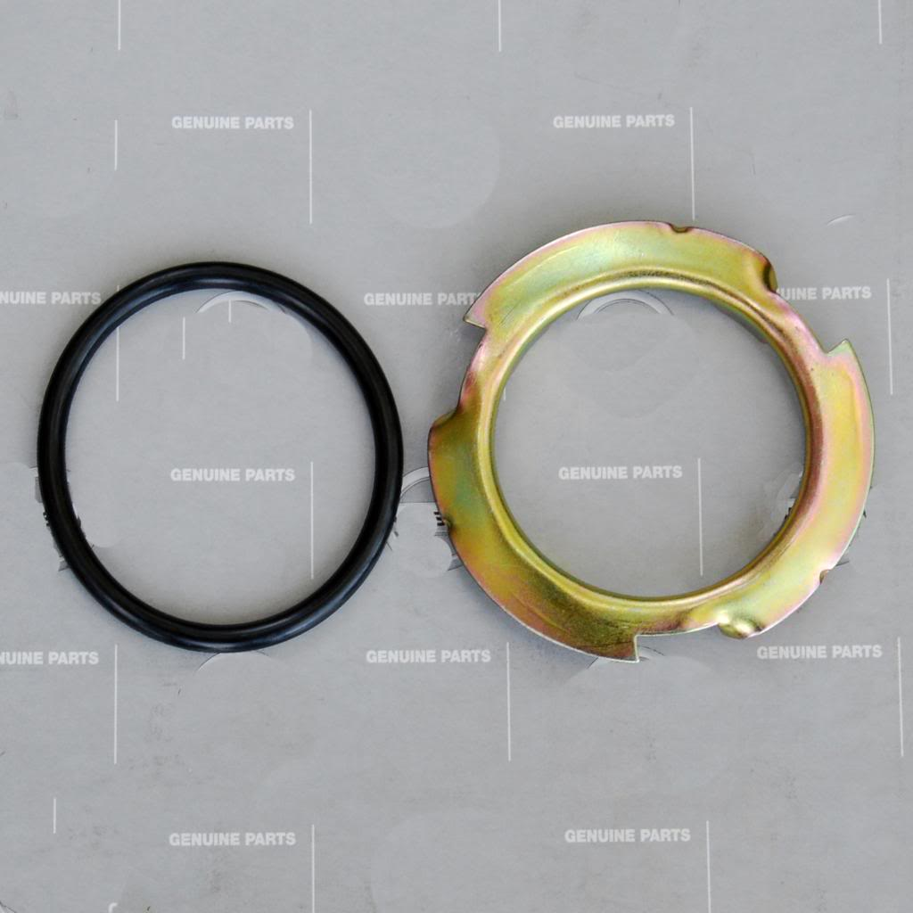 Totalzparts Datsun 240z 260z 280z Fuel Tank Sending Unit Lock Filter Plate O Ring Seal