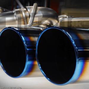 HKS Legamax Premium Exhaust for 09+ Nissan GT-R, Burnt Tips, Flux Welded