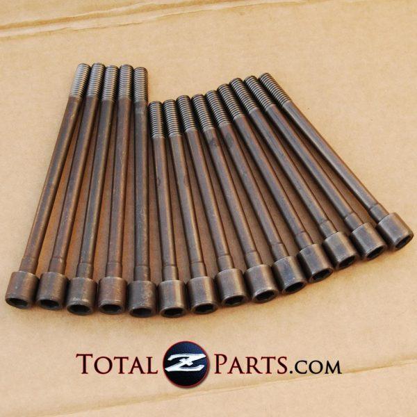 Datsun 240z 260z 280z(x) Engine Cylinder Head Bolts Set *NOS*