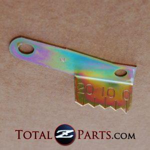 Datsun 240z, 260z, 280z, 510, Roadster Timing Indicator Plate/Tab *NOS*