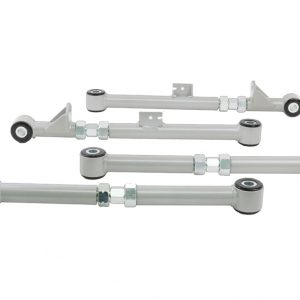 WHITELINE Complete Lower Control Arms Set for 04-07 Subaru IMPREZA STI Sedan
