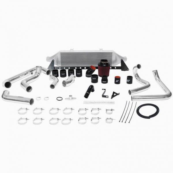MISHIMOTO Front-Mount SILVER Intercooler Kit w/Intake for 2008-2014 Subaru WRX