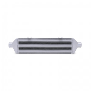MISHIMOTO Front-Mount SILVER Intercooler w/Polished Pipes, for 2015+ Subaru WRX
