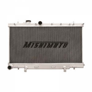 MISHIMOTO Aluminum X-Line 3-Row Performance Radiator, 2001-2007 Subaru WRX/STI