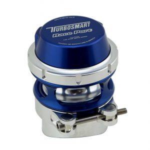 Turbosmart Race Port (50mm Piston) Universal BOV Blow Off Valve, V-Band (BLUE)