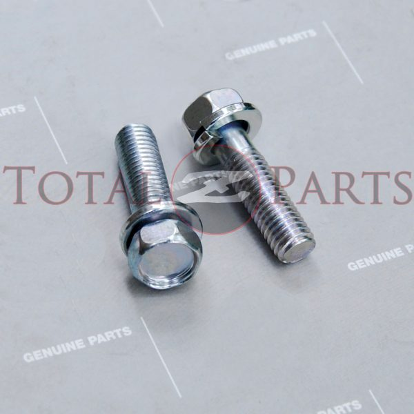Datsun 240Z-280ZX, 510, 610 Water Thermostat Outlet Housing Bolts *NOS, OEM*