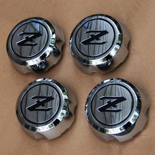 Datsun 280ZX Wheel Center Caps, 1982-1983 *NOS Original*