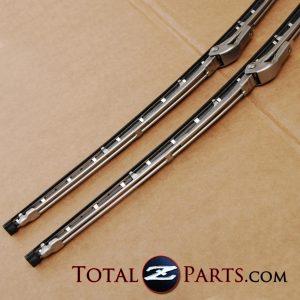 Datsun 240z 260z 280z Front Windshield Wiper Blades Pair *NOS*