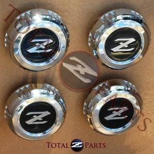 Datsun 280zx 4-Spoke Wheel Center Caps *NOS*