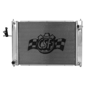 CSF Triple Pass Racing Radiator w/ Condenser, Manual Trans, Nissan 370Z 09+ Z34