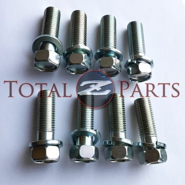 Datsun 240Z-280ZX Differential Cover Bolts Washers Set, R180 R200, 70-83 *NOS*