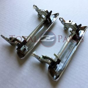 Datsun 240Z 260Z 280Z Original Chrome Outer Door Handles Pair, 70-78 *NOS, OEM*