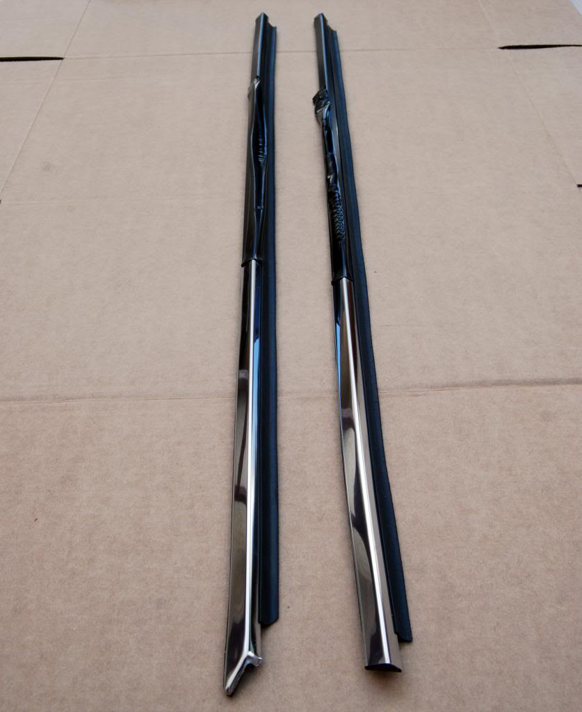 Totalzparts Datsun 240z 260z 280z Chrome Window Door Moulding Trim Infiniti G35 Fuel Filter Location Set Lh Rh Nos