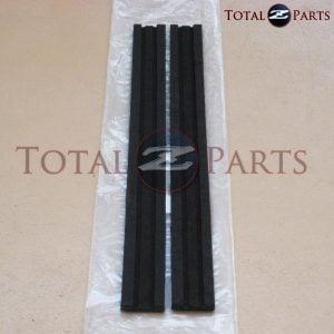 Datsun 240z 260z 280z Lower Door Glass Vertical Felt Runs/Seals, 1970-1978 *NOS*