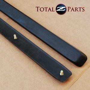 Datsun 240Z Front Bumper Side Rubber Strips Set, 70-73 *NOS*
