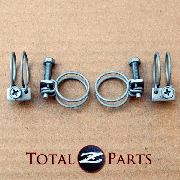 Datsun 240Z 260Z 280Z(X) Heater Hose Clamps Set *NOS*