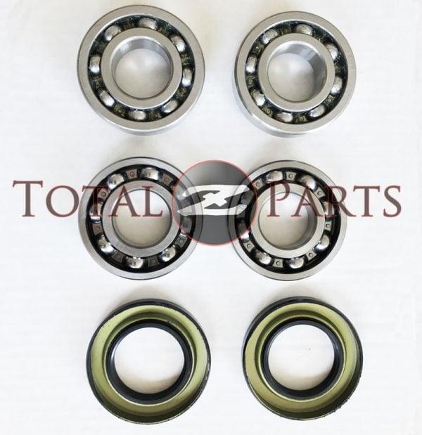 Datsun 240Z 260Z 280Z REAR Inner & Outer Wheel Bearings + Seals, Left & Right *NEW*