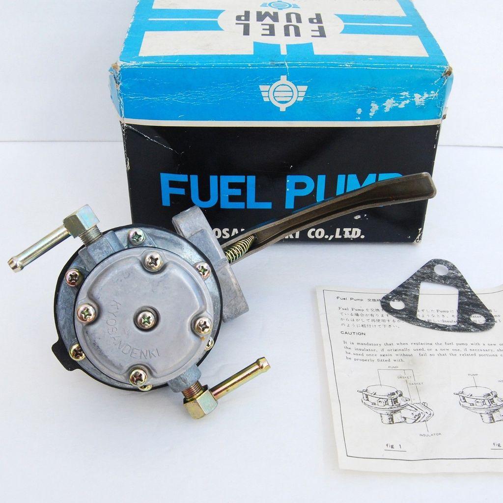 Totalzparts Datsun 240z 260z Kyosan Denki Fuel Pump Japan Infiniti G37 Original Very Rare