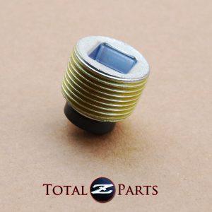 Datsun 240Z 260Z 280Z Manual Transmission Magnetic Oil Drain Plug, 1970-78 *NOS*