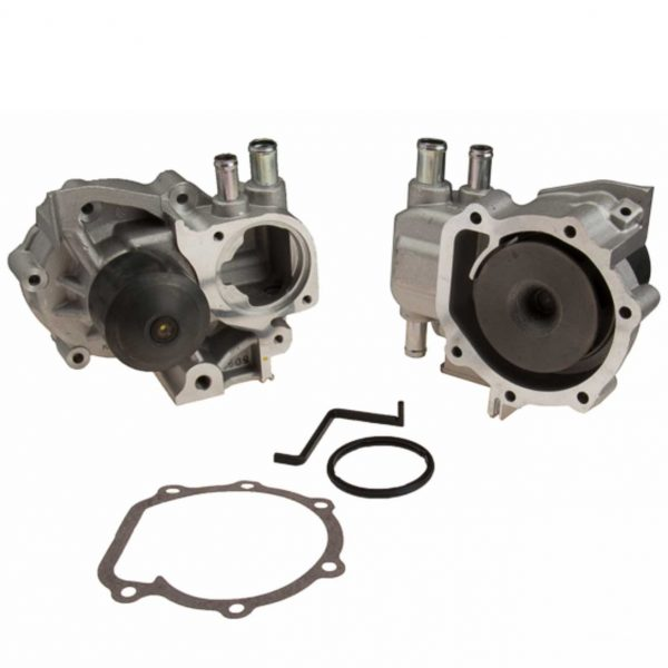 NPW Engine Water Pump for Subaru, 3 Hose Connections