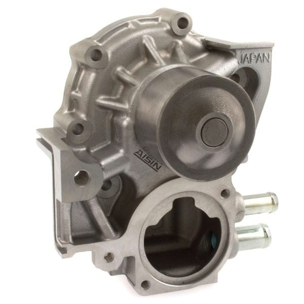 AISIN Engine Water Pump for Subaru, 2 Hose Connections