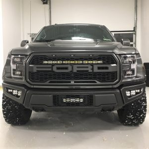 Baja Designs® Sportsmen™ 17-20 Ford Raptor Fog Pocket Kit